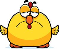 Sad Little Chicken