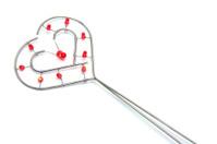 Wire Love Heart Ornament