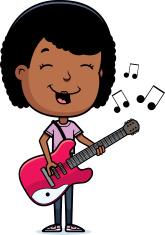 Teen Girl Guitar