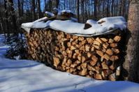 big woodpile
