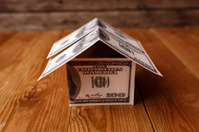 Money House on Wood