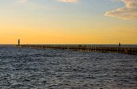 North Pier at Sunset