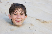 Boy Buried Alive