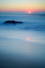Beach in Alentejoat Sunset