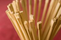 Chopsticks in the glass