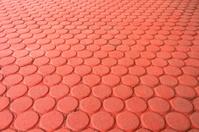 Earthware brick floor
