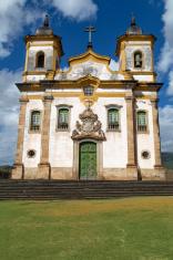 Church in Mariana city, Minas Gerais State, Brazil
