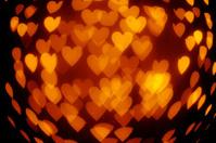 Love Heart Light defocused