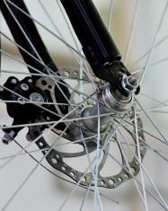 advanced mountain bike front wheel