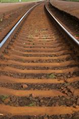 Curve in Railway Track, Riga