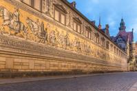 Dresden - Fürstenzug (Procession of Princes)