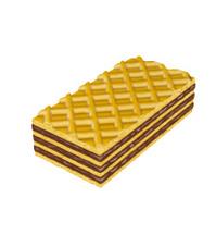Sweet Chocolate Waffle
