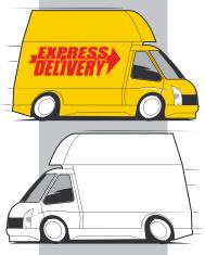 High Roof Delivery Van