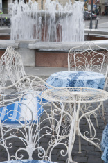 Cafe Table and Chair, Traku Street; Vilnius