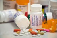 medicine pills and bottles