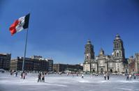 El Zocalo in Mexico City
