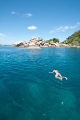 Koh Tao snorkeling - a paradise island
