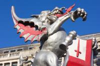 Boundary Dragon in Tower Hamlets, London