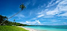 Beach Landscape in Boracay