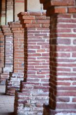 Old Brick Pillars