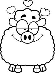 Little Lamb in Love