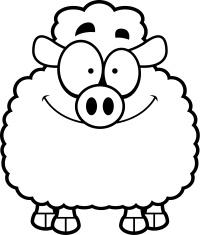 Smiling Little Lamb