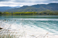 Great view of Banyoles Lake, Girona