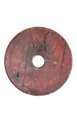 round piece of wood
