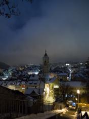 Schaffhausen, Switzerland evenings in winter