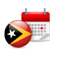 Icon of National Day in East Timor
