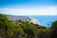 Beach of Calella, Costa Brava, Catalonia, Spain