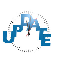 Update word with clock