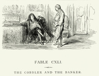 La Fontaine's Fables -  Cobbler and the Banker