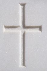 alabaster cross