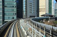 Modern public transport in Tokyo, Japan