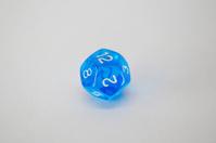 Twelve sided dice