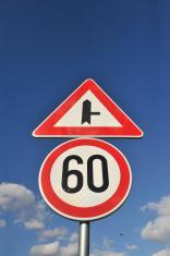 roadsing speed limit on sixty