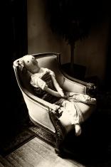 Creepy life sized Antique rag Doll