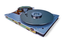 Internals of a hard disk drive