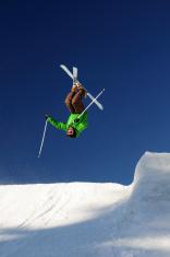 Free style skier