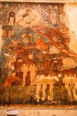 Fresco inside the church in Georgia