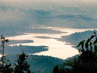 Koyna dam backwaters from western ghat