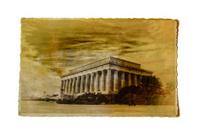 Vintage lincoln memorial