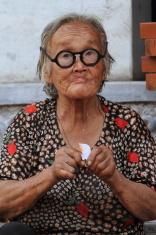 Alte Frau aus China