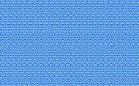 Blue patterned background.