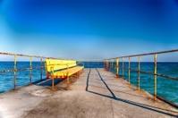 Bench On Sea
