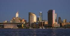 city at dusk - Melbourne