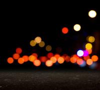 City blurred bokeh
