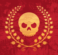 Skull 'N' Wreath