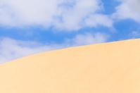 Sand dunes near to the ocean, Boavista, Cape Verde